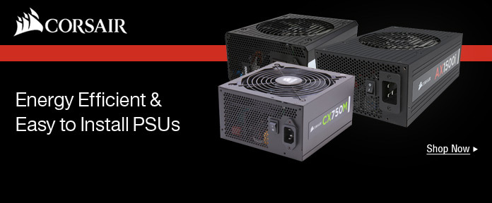 Energy Efficient & Easy to Install PSUs