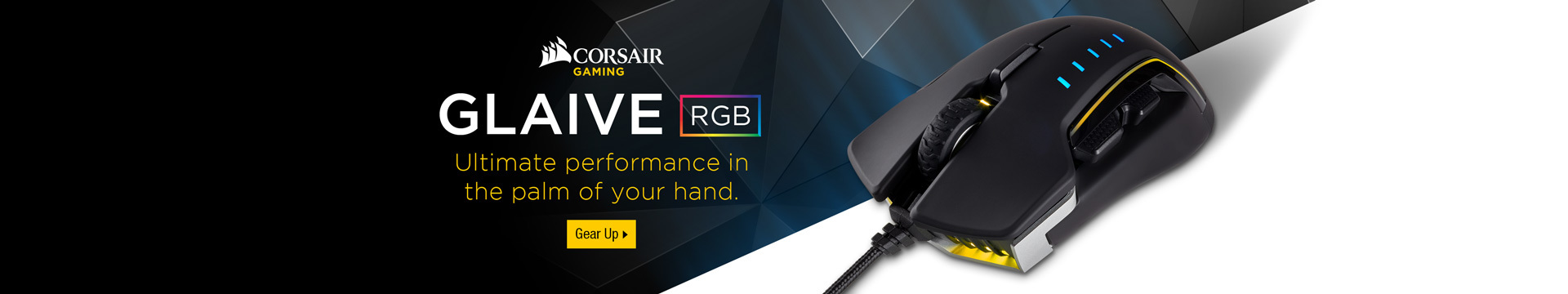 GLAIVE RGB Ultimate performance in the palm of your hand.