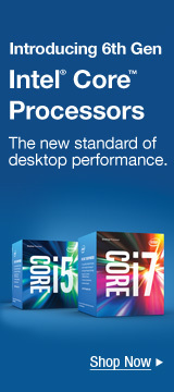 Introducing 6th Gen Intel® Core Processors