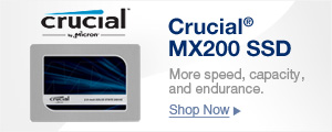 Crucial® MX200 Solid State Drive