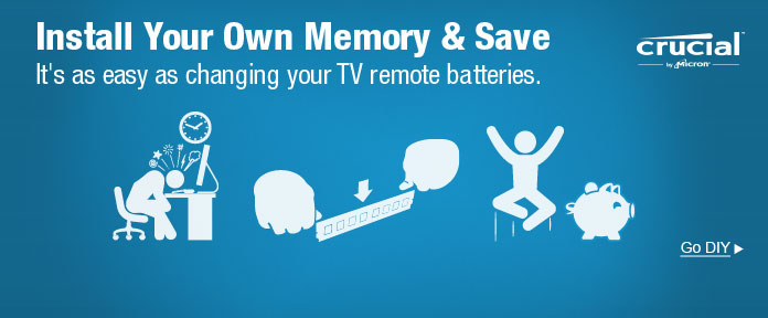 Install Your Own Memory & Save