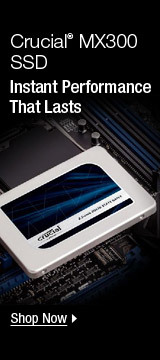 Crucial® MX300 SSD Instant Performance That Lasts