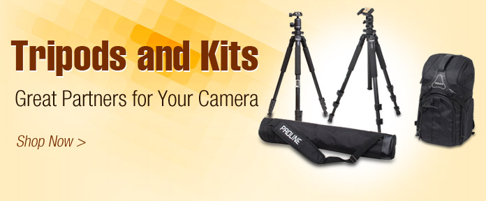 Tripods and Kits Great partners for Your Camera
