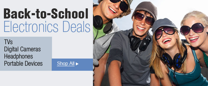 Back To School- Electronics Deals