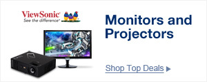 Monitors and Projectors
