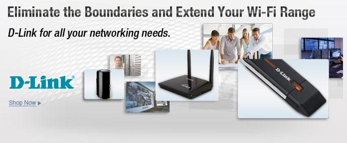 D-Link for all your networking needs