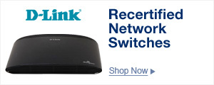 Recertified Network Switches