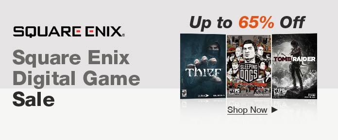 Square-Enix Digital Game Sale