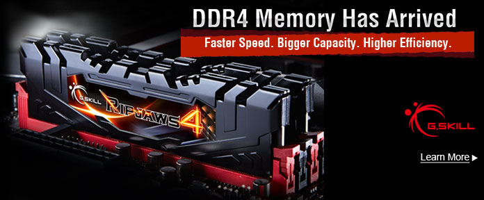 DDR4 Memory Has Arrived