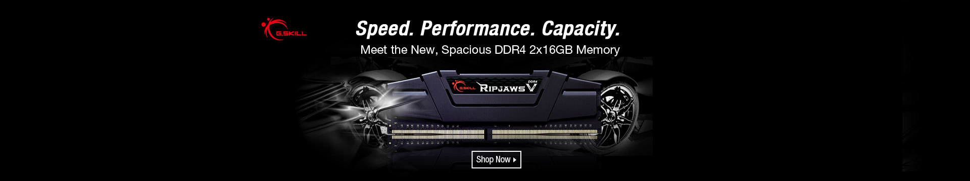 Speed. Performance. Capacity