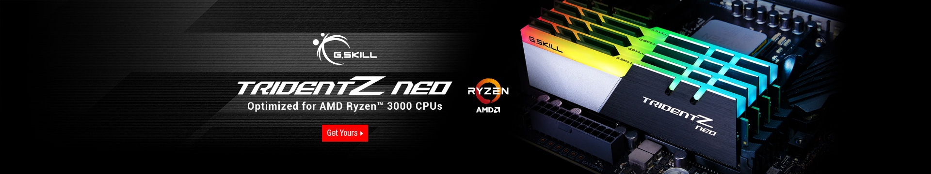 Optimized for AMD Ryzen 3000 CPUs