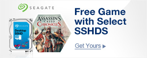 Free Game with SSHDs Below