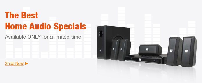 The best Home Audio Specials