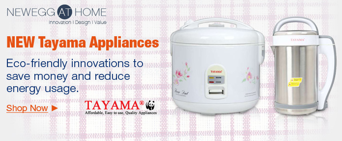 New Tayama Appliances