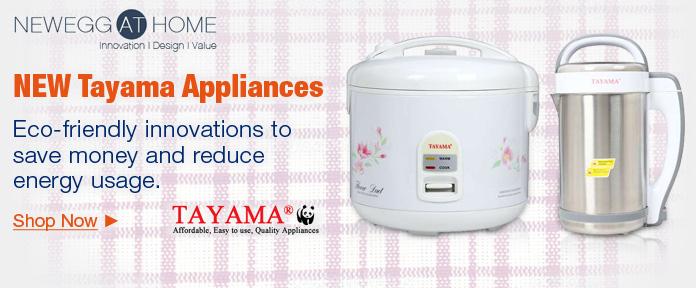 New Tayama Appliances
