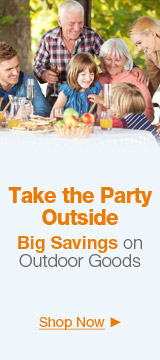 Take the party outside