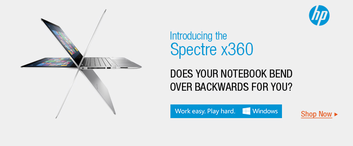 Introducing  the Spectre x360