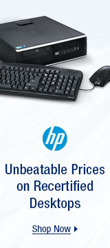 Unbeatable Prices on Recertified Desktops