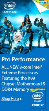 ALL NEW 8-Core Intel® Extreme Processors