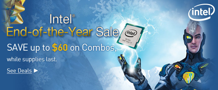 Intel End of Year Sale
