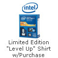 GET A LIMITED EDITION  LEVEL UP  SHIRT