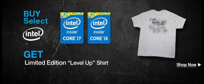 "Get Limited Edition ""Level Up"" Shirt"