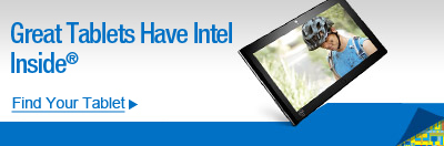 Great Tablets Have Intel Inside