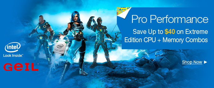 Save Up to $40 on Extreme Edition CPU + Memory Combos