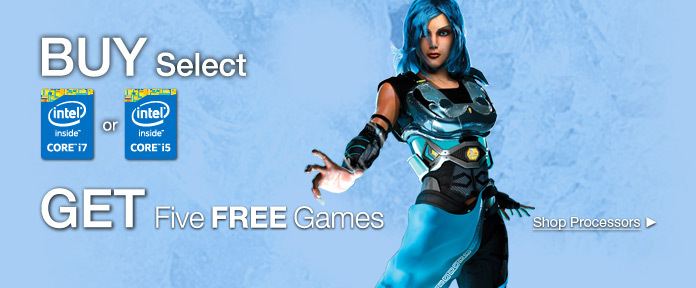 GET Five FREE Games