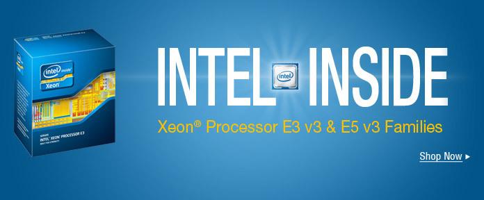 Intel Xeon Processor E3 v3 & E5 v3 Families