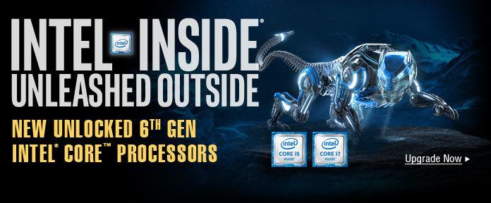 Intel Inside, Unleashed Outside
