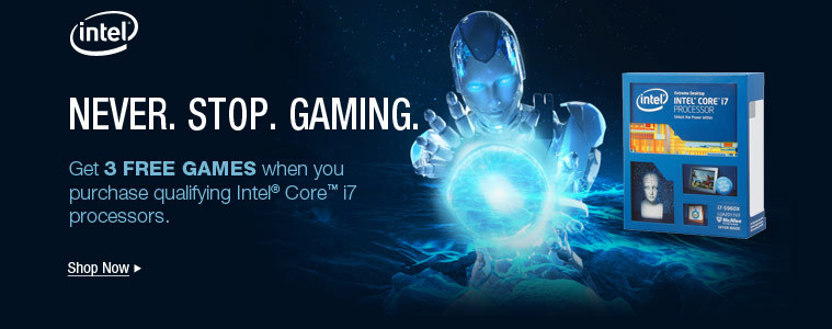 NEVER. STOP. GAMING