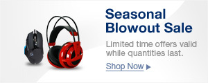 Seasonal Blowout Sale