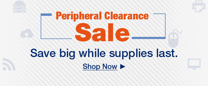 Peripheral Clearance Sale