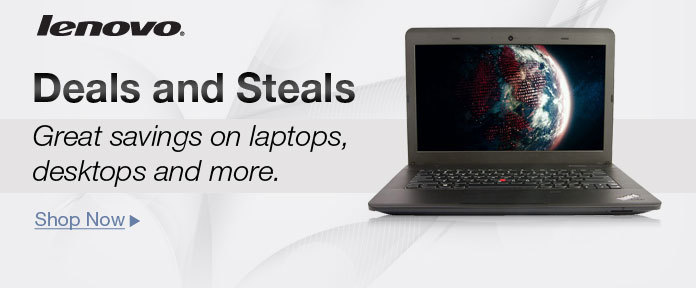 Lenovo Deals and Steals