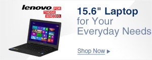"15.6"" Laptop for Your Everyday Needs"