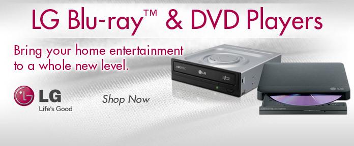 LG Blu-ray & DVD Players