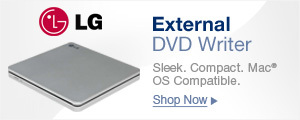 External DVD Writer