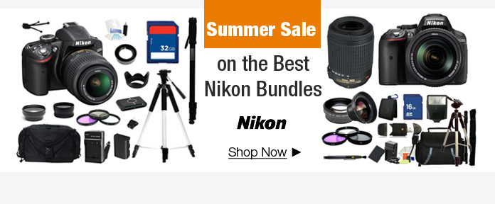 Summer Sale On The Best Nikon Bundles