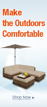 Make the outdoors Comfortable
