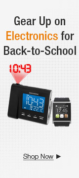 Gear Up on Electronics for Back-to-School