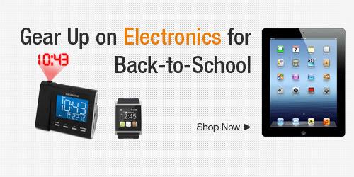 Gear Up On Electronics