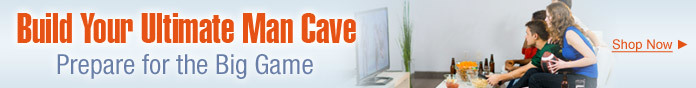 Build Your Ultimate Man Cave