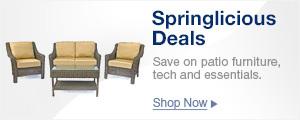Springlicious Deals