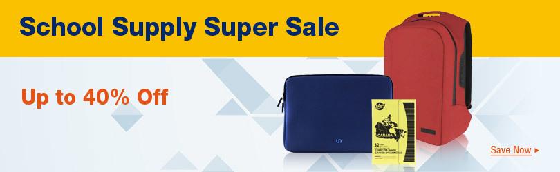 School Supply Super Sale