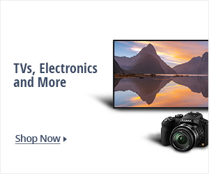TVs, electronics and more