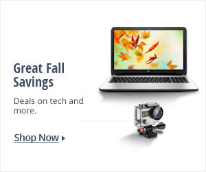 Great fall savings