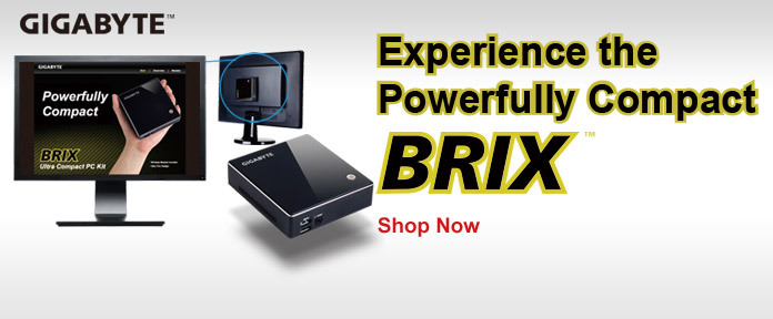Experience the Powerfully Compact BRIX
