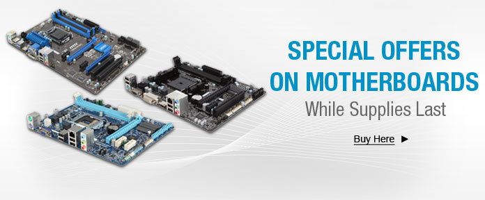 Special Offers On Motherboards