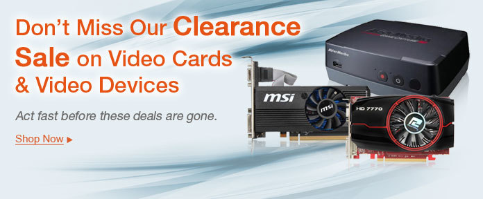 Don't miss our clearance sale